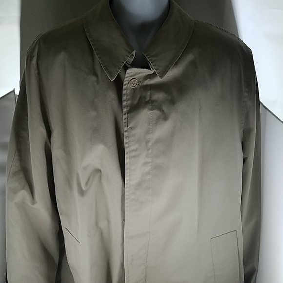 Misty Harbor Other - Mens Beige Misty Harbor Lined Trench Coat 42L